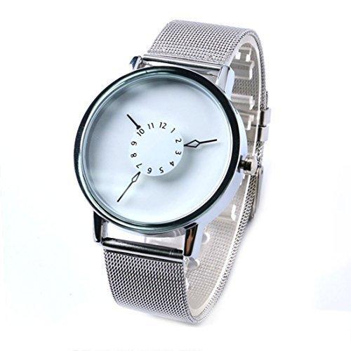 xigeya Paidu Armbanduhr Mesh Band Armbanduhr Uhren fuer Maenner Geschenk