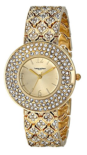 Vernier Paris Damen vnrp11185yg Analog Display Japanisches Quartz Gold Watch