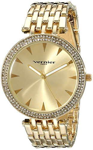 Vernier Paris Damen vnrp11186yg Analog Display Japanisches Quartz Gold Watch