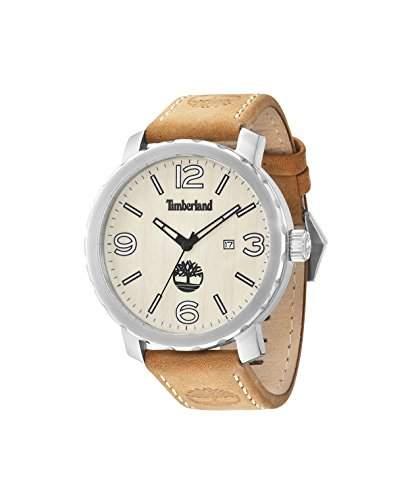 Timberland Herren-Armbanduhr PINKERTON Analog Quarz Leder 14399XS07