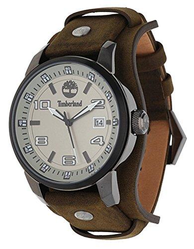 Timberland Herren Uhr Armbanduhr Leder Analog TBL 14337JSUB 61
