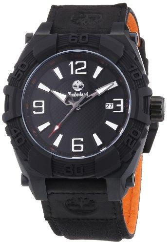 Timberland Herren Armbanduhr XL Analog Quarz verschiedene Materialien TBL 13321JSB 02