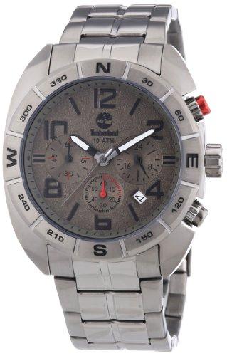 Timberland Herren Armbanduhrn Oakwell XL Analog Quarz Edelstahl beschichtet TBL 13670JSU 61M