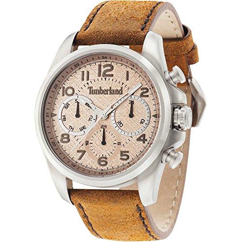 Timberland Herren Multifunktion watch 14769JS 07 Smithfield Beige TBL