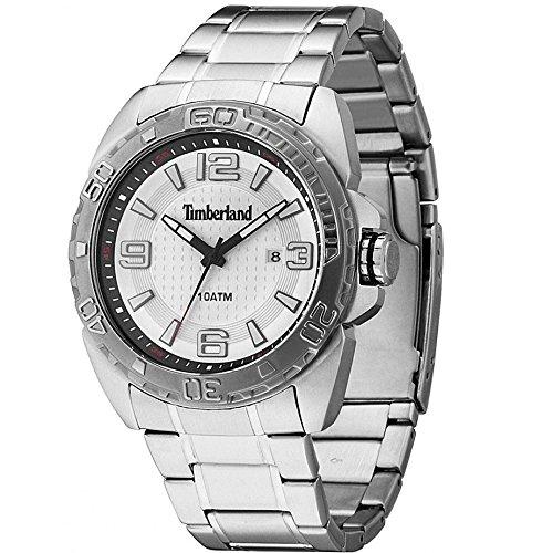 Timberland Malden Mens Silver Stainless Steel Date Watch 13850JSTU 04M
