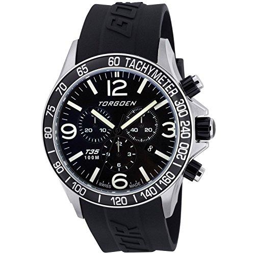 TORGOEN Swiss Chronograph Quarz Kunststoff T35301