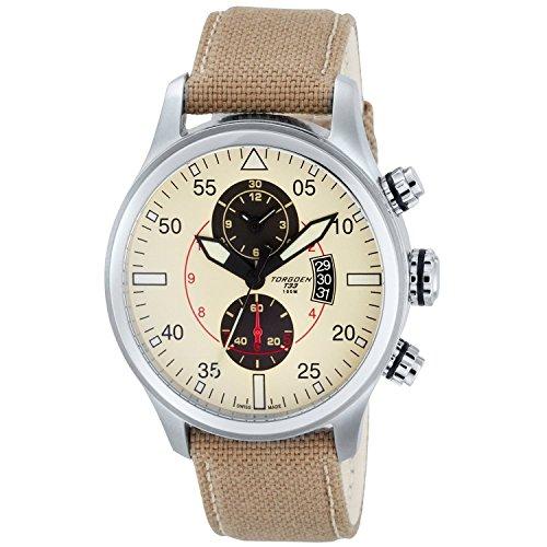 TORGOEN Swiss Chronograph Quarz Nylon T33402