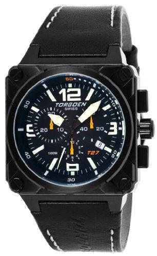 Torgoen Swiss Herren T27101 T27 Chronograph Black Ion Plated Aviation ansehen