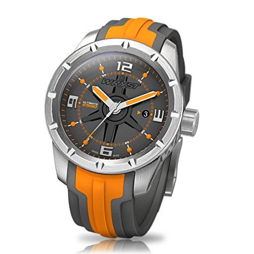 Orange Swiss Sport Armbanduhr wryst Ultimate ES50 Fuer extreme sports