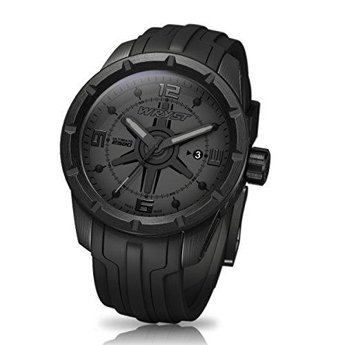 Schwarz auf Schwarz Schweizer Uhr wryst Ultimate ES20 Fuer Sport
