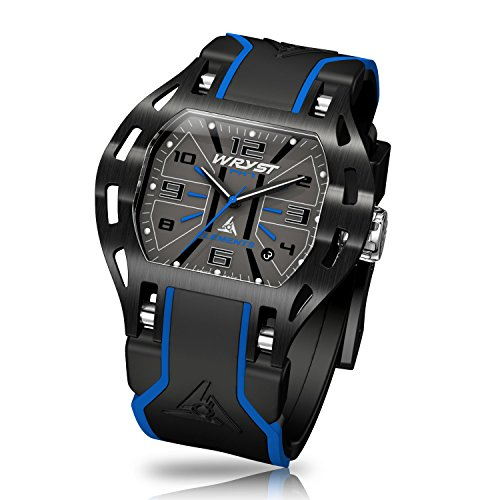 Wryst Elements PH7 Schweizer Armbanduhr Blau