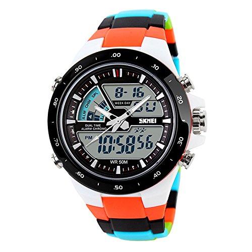 TTLIFE Uhr Armbanduhren Frauen Armbanduhren Unisex Uhr Analog en Hochwertige Uhr Waistwatch Wasserdichte Uhr elektronische uhr digitale Armbanduhr