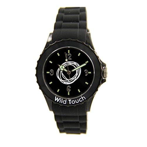 Armbanduhr Silikon schwarz CITIZEN Wild 16