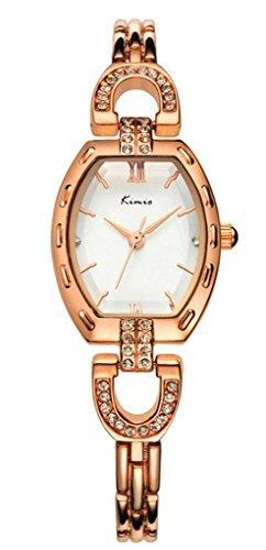 Tidoo Rose Vergoldet Kleid Uhr fuer Lady Luxus Armband Armbanduhr in Charming Aussehen
