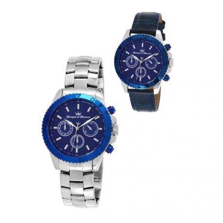 Superdry zeigt Men yonger Bresson Collection Blueline Blaue und argenteee CHC 1650827147 020 GM