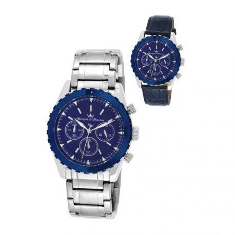 Superdry zeigt Men yonger Bresson Collection Blueline Blaue und argenteee CHC 1650827147 022 GM