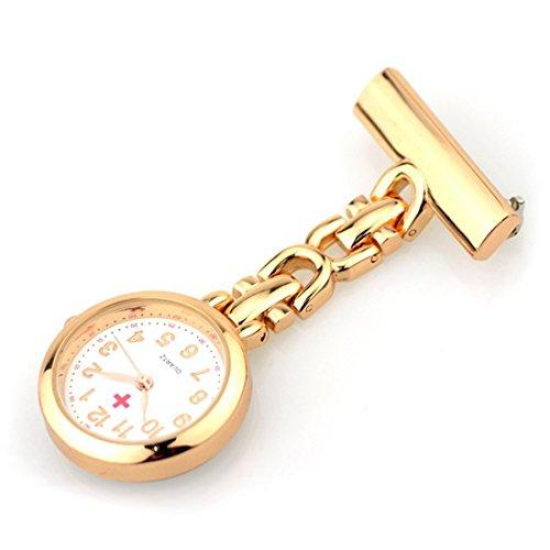 WZC Golden Quarz Uhrwerk Taschenuhr