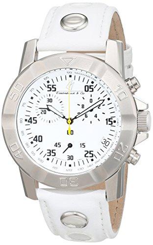 Vandenbroeck Cie Herren Armbanduhr Analog Automatik Leder VC T22771 G10211W