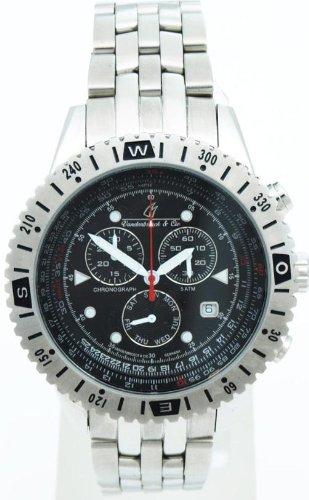 Vandenbroeck Cie Herren Armbanduhr Chronograph Quarz Edelstahl VC HQ22073 900