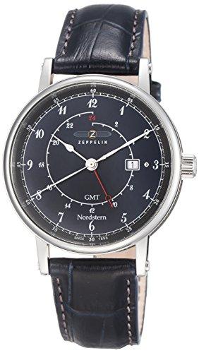 Zeppelin Watches XL Analog Quarz Leder 7546 3