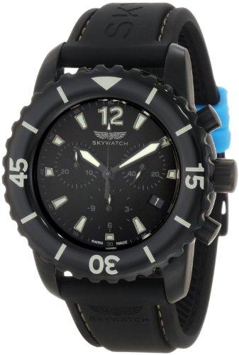 SkyUhr Herren CCI014 Classic Chronograph Epoxy Bezel Swiss Made Uhr