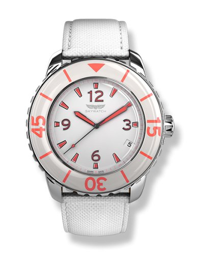 SkyWatch Analog White Dial Womens Watch AM1003