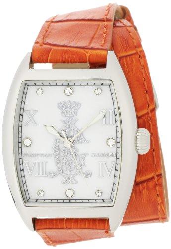 Christian Audigier Damen SPE 619 Intensity Entice Orange Uhren