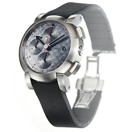 XEMEX Armbanduhr XE 5000 Ref 5500 03 CHRONOGRAPH SILVER SPEED