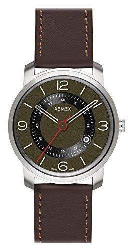 XEMEX Armbanduhr PICCADILLY QUARTZ Ref 880 22 3 HANDS DATE