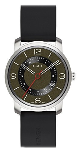XEMEX Armbanduhr PICCADILLY QUARTZ Ref 880 23 3 HANDS DATE