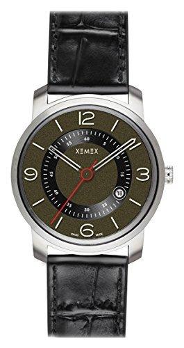 XEMEX Armbanduhr PICCADILLY QUARTZ Ref 880 24 3 HANDS DATE
