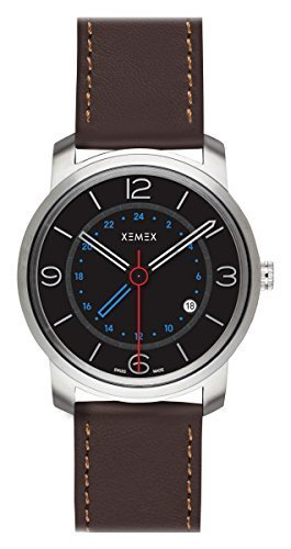 XEMEX Armbanduhr PICCADILLY QUARTZ Ref 881 02 GMT