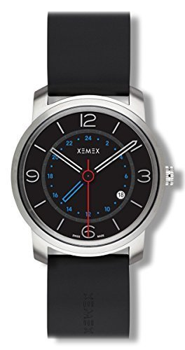 XEMEX Armbanduhr PICCADILLY QUARTZ Ref 881 03 GMT