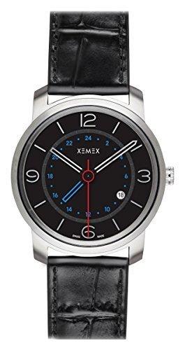 XEMEX Armbanduhr PICCADILLY QUARTZ Ref 881 04 GMT