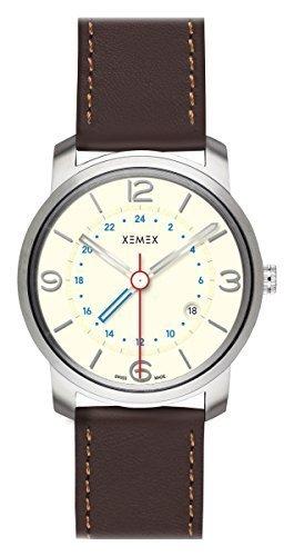 XEMEX Armbanduhr PICCADILLY QUARTZ Ref 881 22 GMT