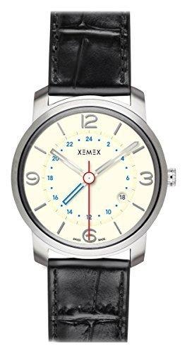 XEMEX Armbanduhr PICCADILLY QUARTZ Ref 881 24 GMT