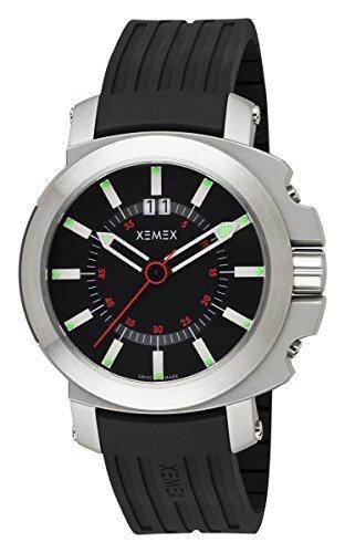XEMEX Swiss Watch CONCEPT ONE BIG DATE Ref 6000 03