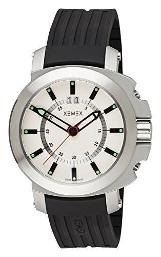 XEMEX Swiss Watch CONCEPT ONE BIG DATE Ref 6001 03