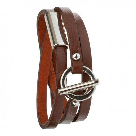 Armband toui2 London Triple Tour Leder Classy Unisex 85918