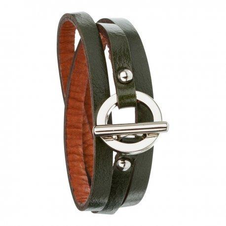 Armband toui2 London Triple Tour Leder Trendy fuer Damen 85885