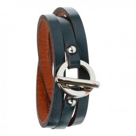 Armband toui2 London Triple Tour Leder Trendy fuer Damen 85882