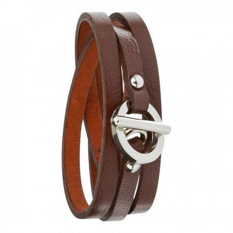 Armband toui2 London Triple Tour Leder Trendy fuer Damen 85879