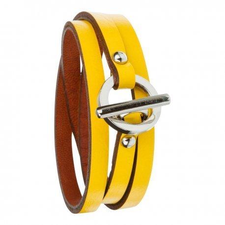 Armband toui2 London Triple Tour Leder Trendy fuer Damen 85886