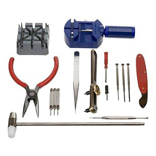 alpen 16 Set Uhr Reparatur Werkzeug Kit Band Pin Riemen Link Entferner Rueckseite OEffner Tools