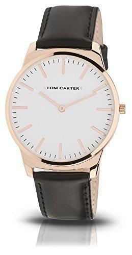 Tom Carter Cruise Rose Gold Leder 45mm schwarz