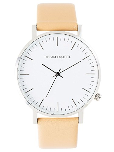 Thread Etiquette Classic Armbanduhr Karamell 225