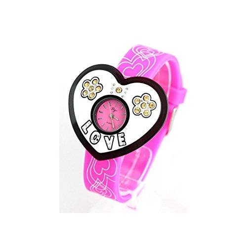 Zeigt Damen Armband Silikon Rosa 55