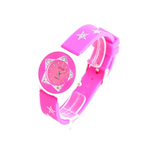 Zeigt Damen Armband Silikon Rosa 1170