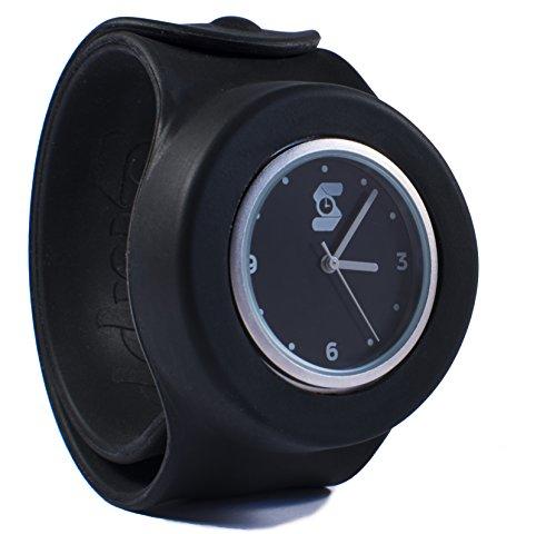 Die original schwarz slappie Slap Uhr Erwachsene Large