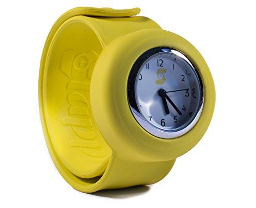 Original slappie gelb Slap Uhr Kinder und kleine Erwachsene BBC Dragons Den Winner 2016